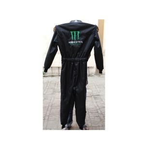 Monster Embroidered Go Kart Racing Suit