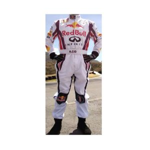 Red Bull Embroidered Go Kart Racing Suit