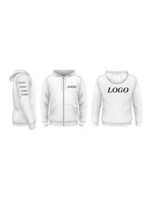 Custom Sublimated Fleece Hoodie