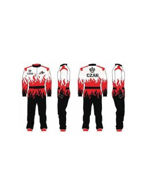 CZAR Go Kart Race Suit Sublimated