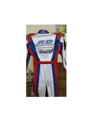 Energy Embroidered Go Kart Race Suit