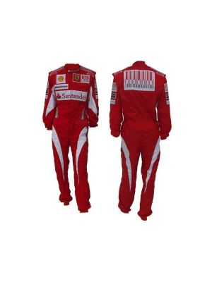 Ferrari Embroidered Go Kart Race Suit