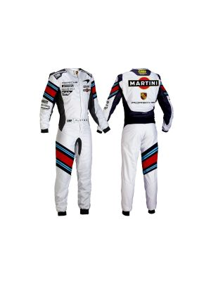 Martini Go Kart Race Suit Sublimated