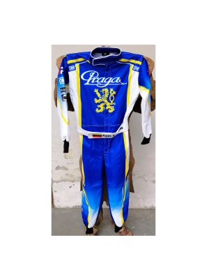 Praga Go Kart Race Suit Sublimated