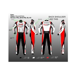 Birel art Go Kart Race Suit Sublimated