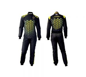 Lamborghini OMP Black Edition Go Kart Race Suit Sublimated