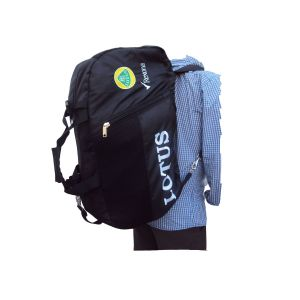 Lotus Sports Bag Duffel Convertible To Back Pack