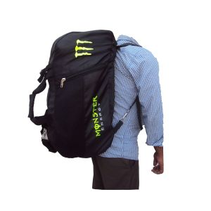 Monster Sports Bag Duffel Convertible To Back Pack