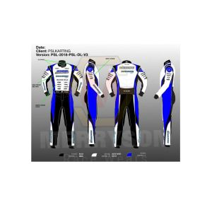 PSL Karting Go Kart Race Suit Sublimated