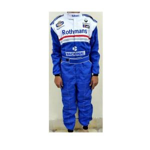 Roth Mans Embroidered Go Kart Racing Suit