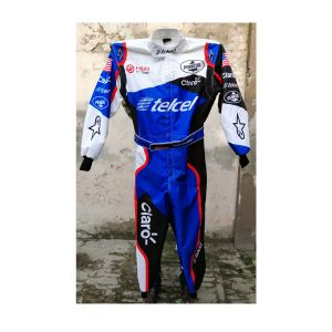 Telcel 2019 Go Kart Race Suit Sublimated