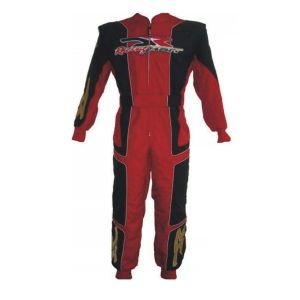 DR Embroidered Go Kart Race Suit